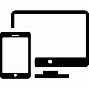 Responsive design symbol - Free web icons