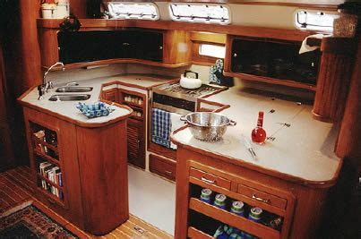 boat galley kitchen designs pool and layout on 4853