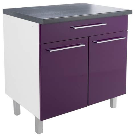 meuble de cuisine aubergine meuble cuisine couleur prune palzon com