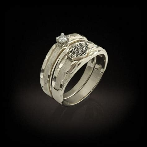 harley davidson wedding rings cool harley davidson wedding rings for your special day 4721