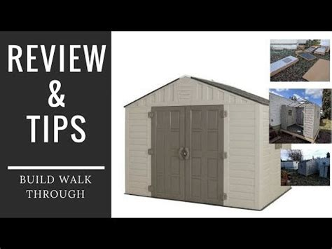 vinyl shed reviews home depot 8x10 shed review and build tips keter vinyl