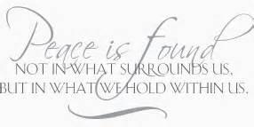 Peace & Plenty ... Peace And Plenty Quotes