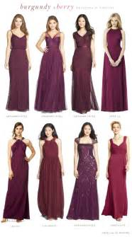 maroon bridesmaid dress mismatched burgundy bridesmaid dresses 2015 bridesmaid dresses all about of dresses