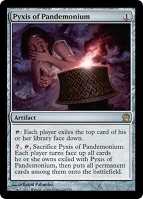 mtg deck definition pyxis of pandemonium theros gatherer magic the