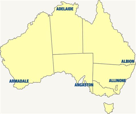 Where In Oz Is That - Australia My Land Locality Game