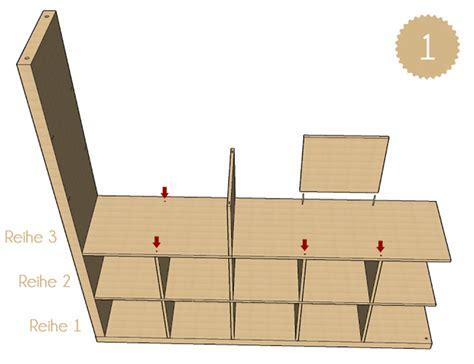 Ikea Kallax Aufbauanleitung by Kallax Regal Aufbauen Anleitung Wohn Design