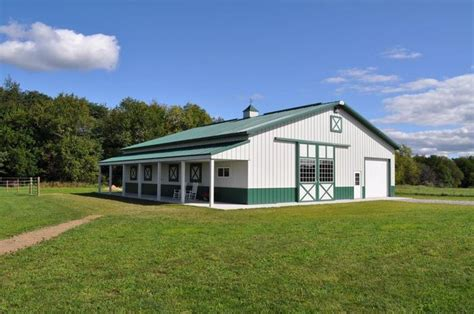 house plans with apartment attached 14 tips on how to build a pole barn wick buildings