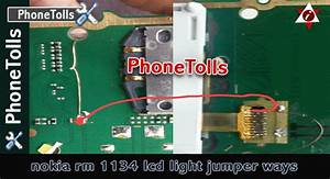 Nokia Rm 1134 Lcd Light Jumper Ways