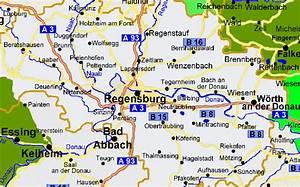 Regensburg Deutschland Interessante Orte : vermieter landkarte regensburg karte kelheim bad abbach w rth orte ortschaften ~ Eleganceandgraceweddings.com Haus und Dekorationen