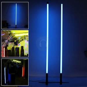 2x 5.3ft Blue Neon Tube Lights Decoration Lighting Effects ...
