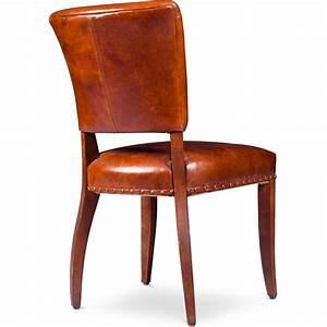 Chaise Vintage Cuir : chaise vintage luxueuse cuir les meilleures ventes iconikinterior ~ Teatrodelosmanantiales.com Idées de Décoration