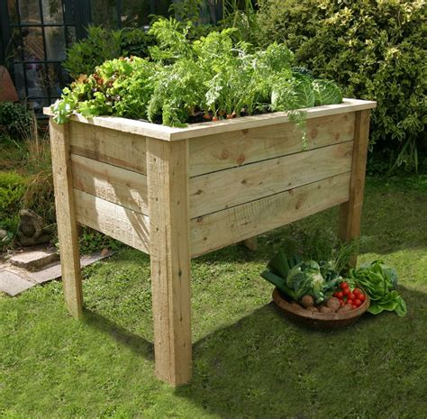 root 1 metre vegetable planter garden world