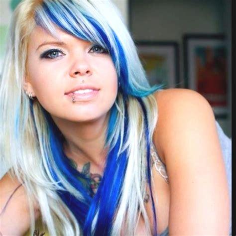 25 Best Ideas About Blue Hair Underneath On Pinterest