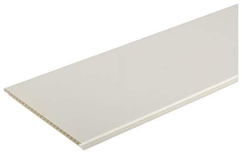 Lambris Pvc 1 Frise Blanc Brillant  Brico Dépôt
