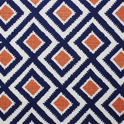 Blue And Orange Upholstery Fabric by Best 25 Upholstery Fabrics Ideas On