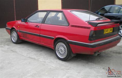 1985 AUDI COUPE QUATTRO RED
