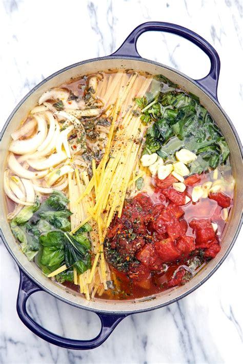 pot  tomato basil pasta recipe keeprecipes
