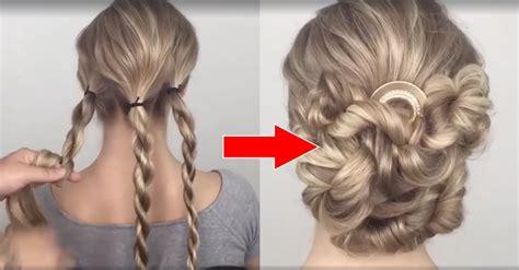 coiffure simple pour mariage chignon coiffure facile a realiser pour un mariage