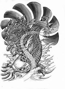 Demon Japonais Dessin : 581 800 carpe koi pinterest tattoo ~ Maxctalentgroup.com Avis de Voitures