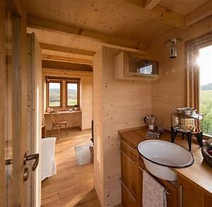 Tiny Haus Kosten : deutscher tischler baut blockhaus f r autoanh nger welt ~ Michelbontemps.com Haus und Dekorationen