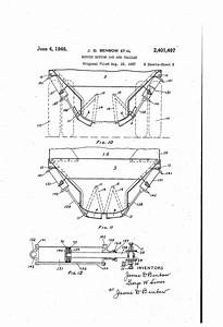 Patent Us2401407 - Hopper Bottom Car And Trailer