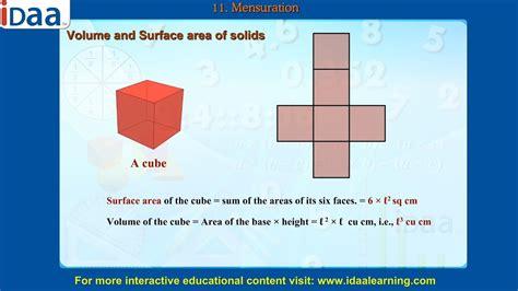 mensuration cbse class  math geometry youtube