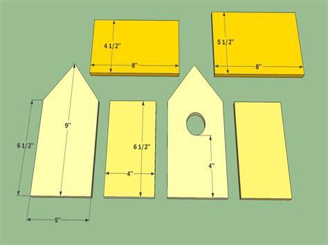 bird house building plans wooden bird house plans  build  simple house treesranchcom