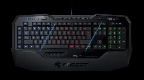 roccat launches isku fx gaming keyboard with multicolor back lighting