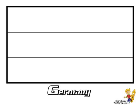 German Flag Coloring Page... You Have All 195