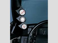 Auto Meter Pillar Gauge Pods, Gauge Pod, Triple 2 116 in