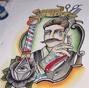 Barber Shop Tattoo | Barber life | Pinterest | Shops ...