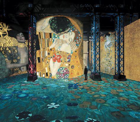 Klimt La by Immersive Exhibition On The Work Of Gustav Klimt Fubiz Media