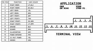 5 Best Images Of Gm Bose Wiring-diagram