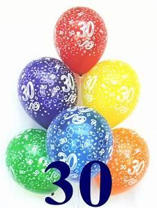 30 Dinge Zum 30 Geburtstag : luftballons latexballons 10 st ck 30 geburtstag 30 luftballons geburtstag 30 besondere ~ Bigdaddyawards.com Haus und Dekorationen
