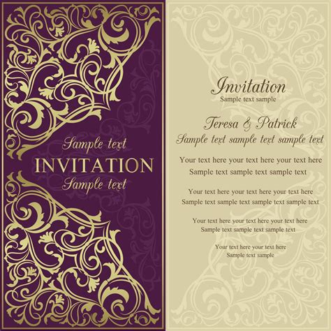 invitation letter sample
