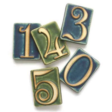 pewabic tile house numbers install new house numbers 100 diy upgrades for