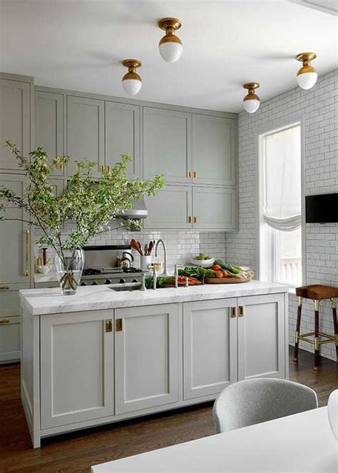 gray kitchen cabinets ideas   decor home