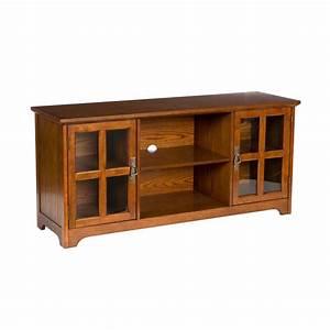 amazoncom sei remington media stand mission oak home With oak home theater furniture