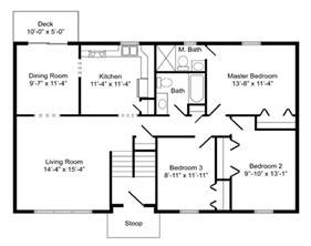 basic floor plan high quality basic home plans 8 bi level home floor plans