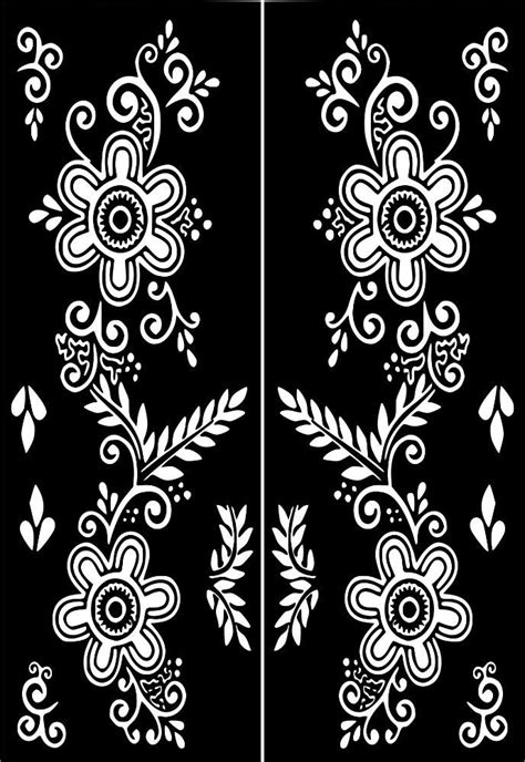 Click on my user name for more Henna Stencils:) HOW TO