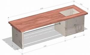 Betonplatten Selber Machen : gartenbank aus beton gartenliege ~ Whattoseeinmadrid.com Haus und Dekorationen