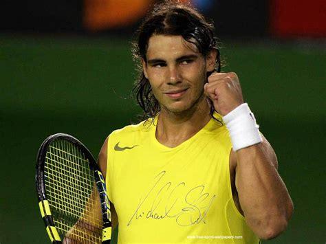 A Racket Hits Rafa Nadal Julys Observer