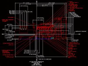 Generator Cat 3512 In Autocad
