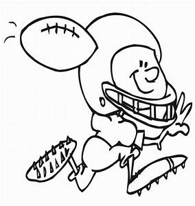 Free Printable Football Coloring Pages For Kids Best