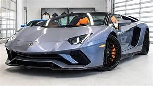 Lamborghini Aventador 2018 : delivery of a 2018 lamborghini aventador s lp740 4 roadster in grigio oneirus 4k youtube ~ Medecine-chirurgie-esthetiques.com Avis de Voitures