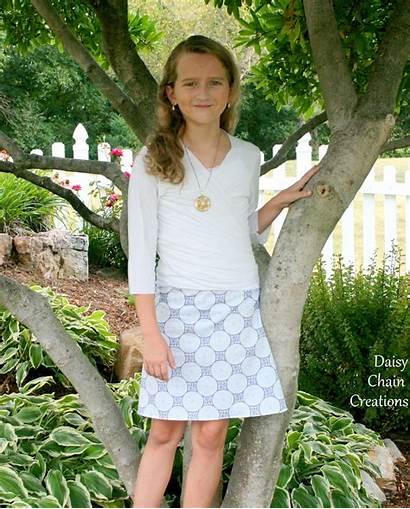 Skirt Line Tween Cool Scene Sew Skirting