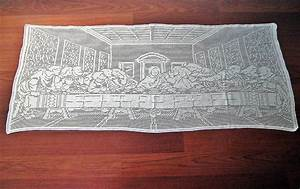 You have to see The Last Supper Handmade Filet Crochet T