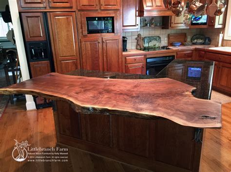 wood slab kitchen island wood countertops live edge wood slabs 1603