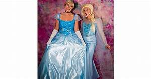 Cinderella and Elsa Yes, You Can Be a Disney Princess