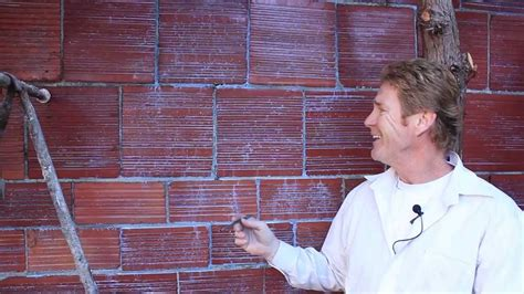 plastering  parging terra cotta block  brick walls